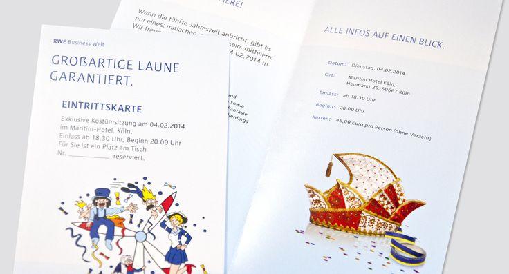 RWE Karneval - Karnevalssitzung für Geschäftskunden