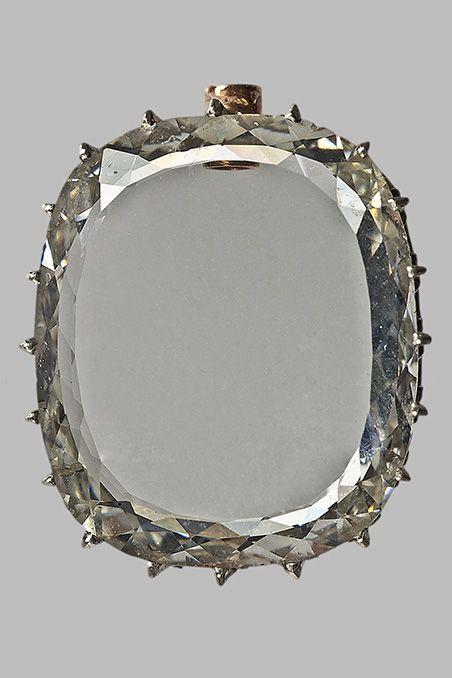 Le Grand Diamant-Portrait de Marie-Louise d'autriche © MNHN - François Farges