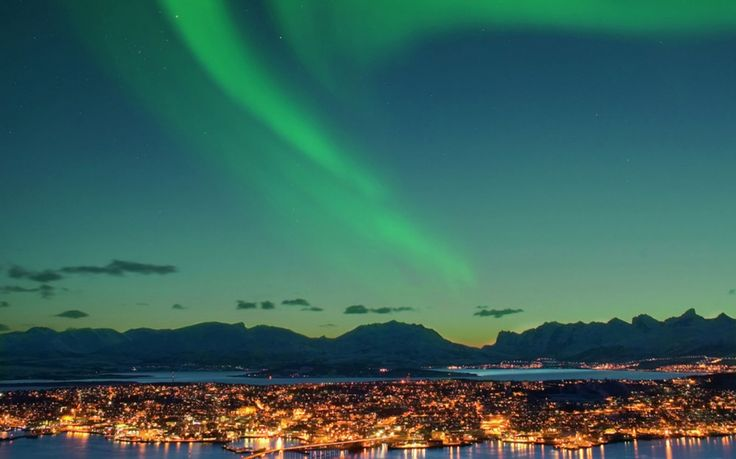 Tromsø for the annual Northern Lights festival (in 2015, January 24–February 1).