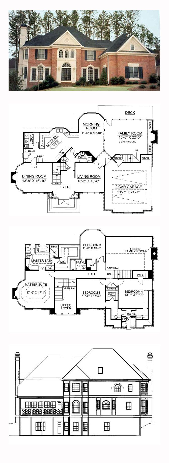 49 Best Greek Revival House Plans Images On Pinterest