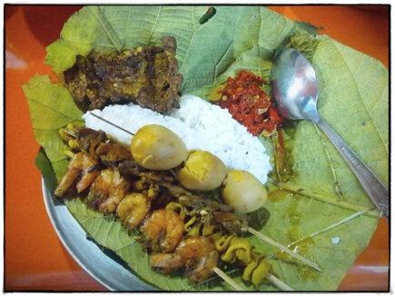 Nasi Jamblang, kuliner khas Cirebon yang memiliki sejarah tersendiri