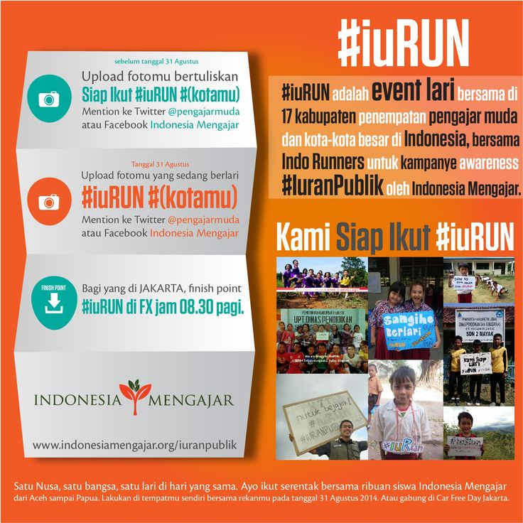 #iuRUN #IuranPublik Indonesia Mengajar