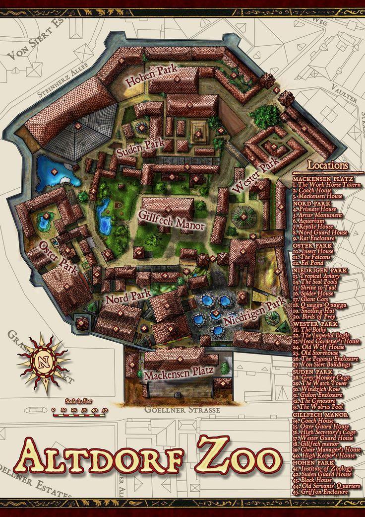 Pin auf Dungeon Cartography