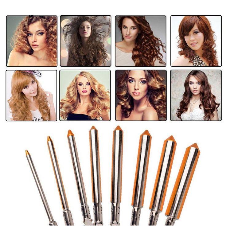 Professional 09-31mm Curling Wand Automatic Hair Curling Tong 110-240V Hair Curling Iron The Wand Hair Curler Roller Gift Feature: 4gradesintelligenttempera