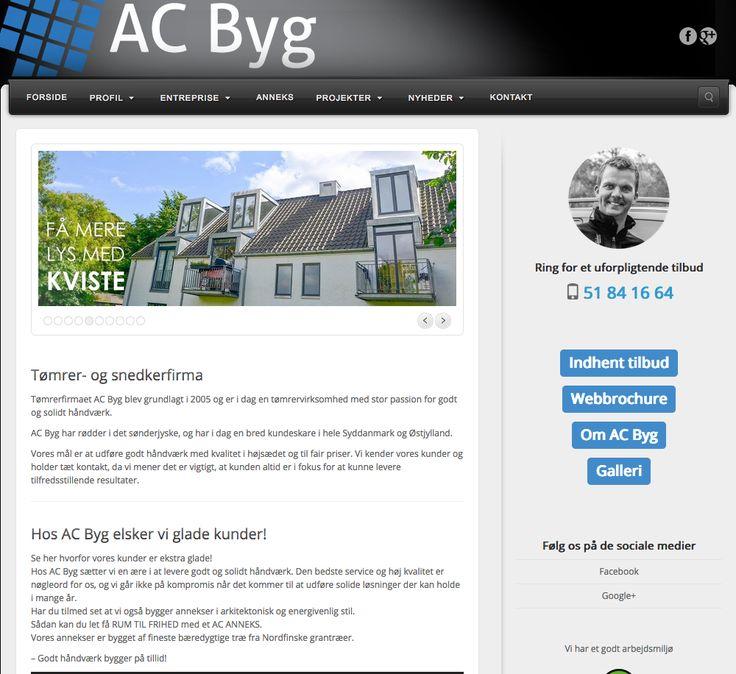 Erfaren tømrer og snedker i Haderslev, som vi varmt kan anvefale #ACBYG #Tømrer #Snedker #Haderslev