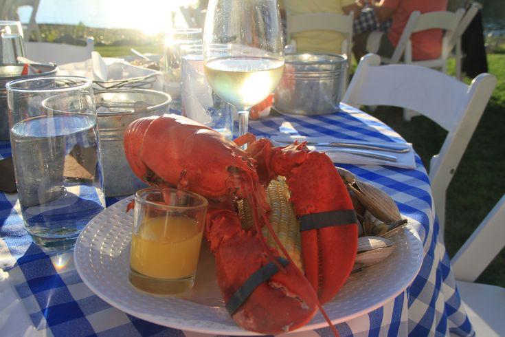 Summer lobster bake in Maine #summerinmaine #maine #mainelife  www.VisitMaine.net