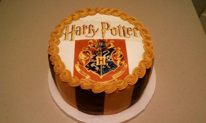 Harry Potter Ice Cream Cake Harry Potter Cake