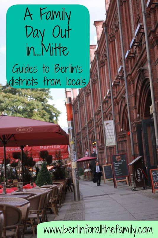 If you're coming to Berlin on holiday/vacation with the kids and don't know where to go whilst visiting, check out the 'A Family Day Out in...' posts on the website for tips on what to explore in Berlin's different disctricts as advised by a local family