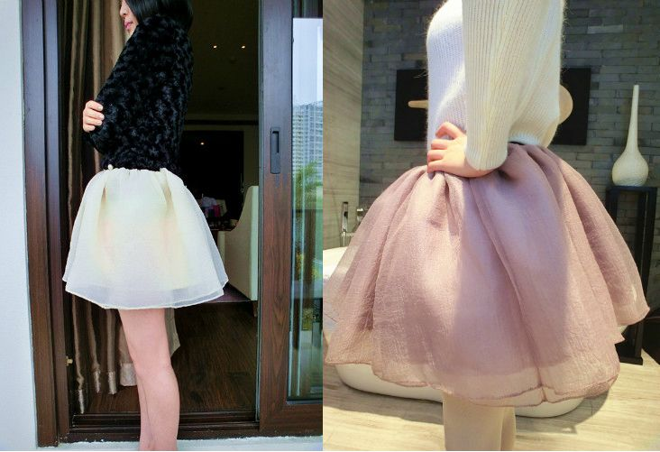 Free shipping, 2013 women's tulle skirt female high waist puff skirt bust skirt ball gown short skirt 6026#,3 color choose. $11.35