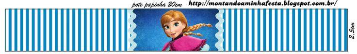 Frozen: Etiquetas Gratis para Candy Bar.