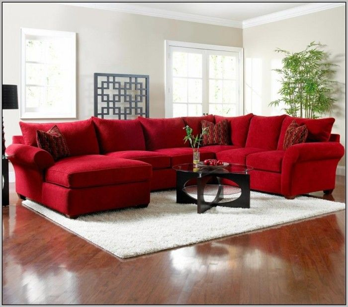 Awesome Red Sectional Sofa Good Red Sectional Sofa 12 In Modern