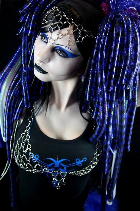 CyberGoth lady cute 8/10