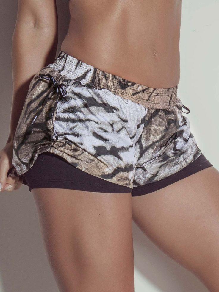 Tiger Shorts Superhot _lado