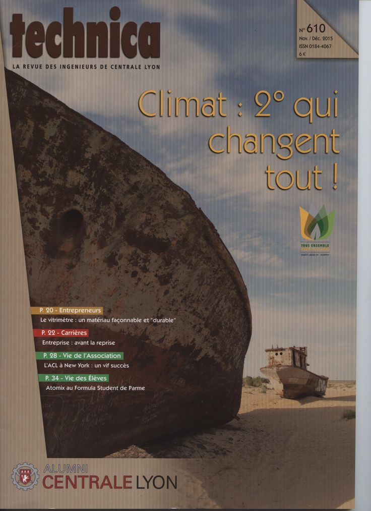 Technica. N° 610 nov. 2015 : Climat : 2° qui changent tout !
