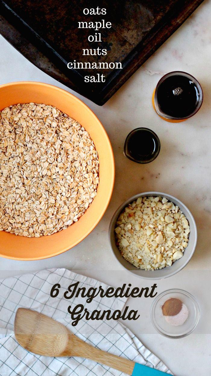 Easy Homemade Granola Recipe Easy Granola Recipe Granola