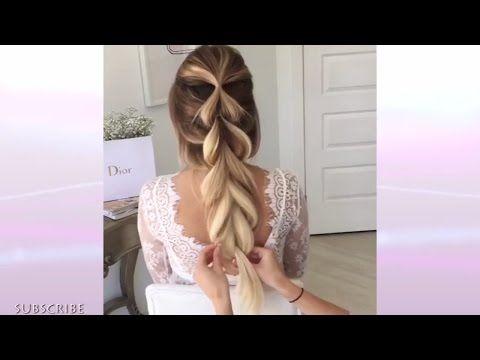 Великолепные свадебные #прически, от которых можно потерять дар речи! 💝👰 - YouTube