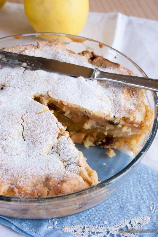 La torta di mele e noci che si crede una pie