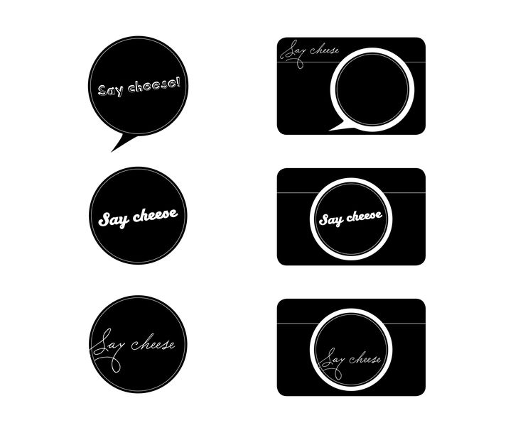 Say Cheese / logo / Ina Bråthen