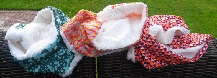 BabaRum: Winter Wonder cirkel sjaals