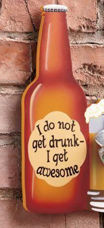 Beer Sign with Bottle Opener Bottle-Mug For The Man-Cave  $17.95 DIY for Men MonDIY for Men DIY Guy Crafts checkout http://thediyshow.com/