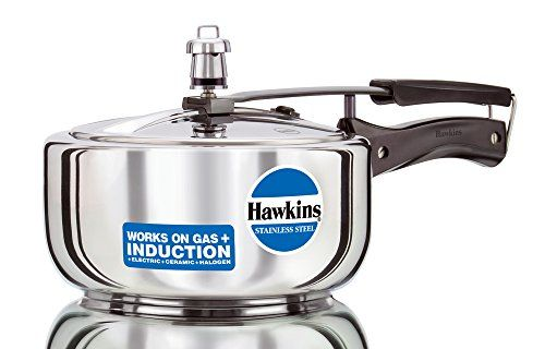 LOOK:  Hawkins Stainless Steel 3 0 Litre Pressure Cooker