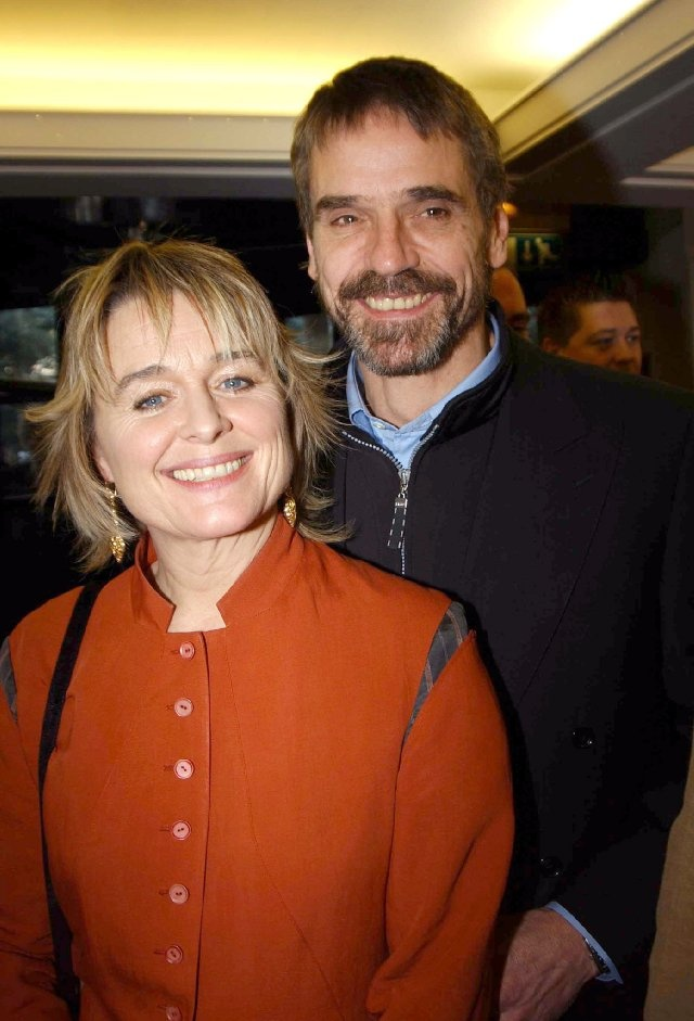 Jeremy Irons & Sinéad Cusack, married since 1978