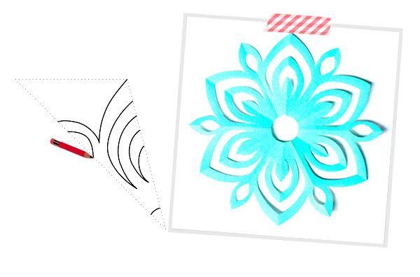 Снежинки из бумаги своими руками, как сделать снежинку к новому году