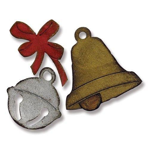 Fustella bigz campane di Natale - Sizzix Fustelle Bigz - Big Shot Macchina e Accessori - BIG SHOT & CO.