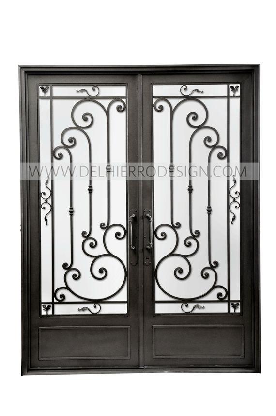 Hierro forjado puertas de entrada del hierro design for Puertas de hierro forjado