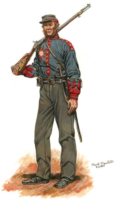 Third Mississippi Infantry Company B - 1861 (Sunflower Dispersers)