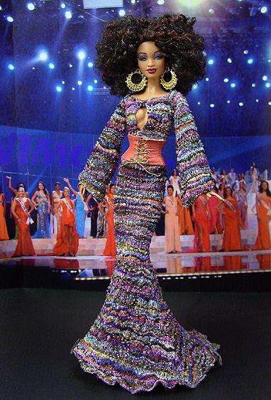 OOAK Barbie NiniMomo's Miss Philadelphia 2009