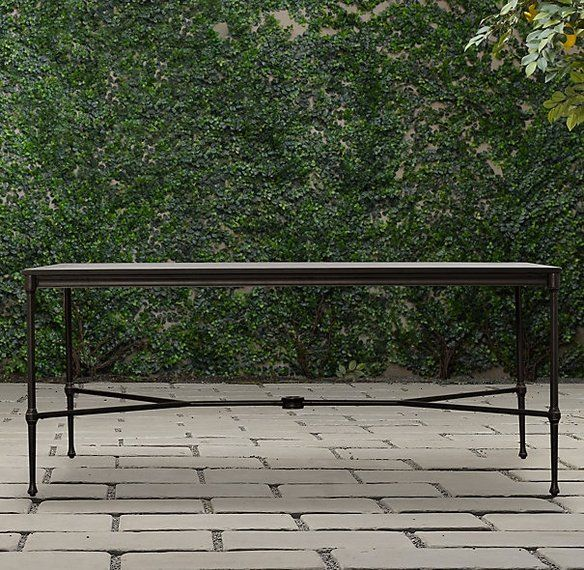 check out this restoration hardware outdoor set from our march guest curator leslie hindman auctioneers