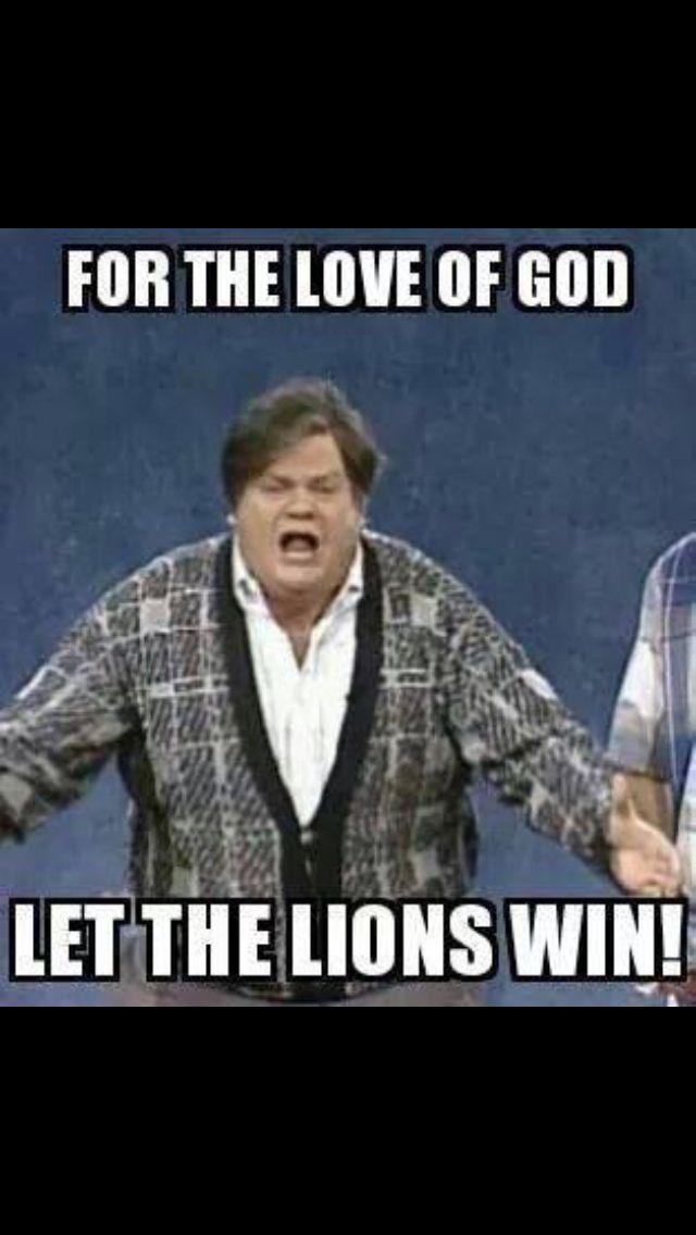 God love the Detroit Lions!
