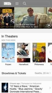 IMDb iOS app gets iOS 7 redesign, improved navigation & filters, Oscars section, more