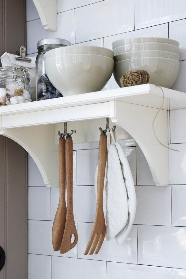 Between vertical storage and drawer organizers, you can create extra space to finally start enjoying your kitchen! Find IKEA ideas to start cooking a little more comfortably in our Holiday Prep Guide.