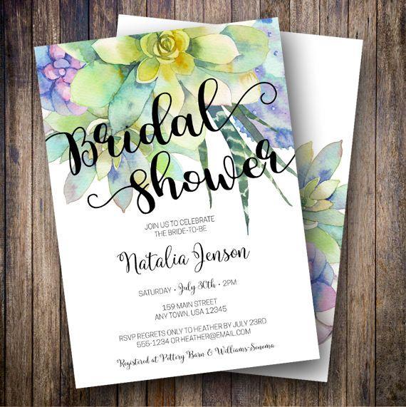 31 best Bridal Shower Invitation ideas images on Pinterest - bridal shower template