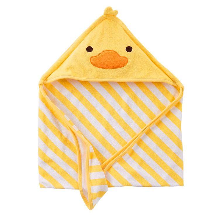 Toalha de Banho com Capuz Pato Child of Mine Carter's -Bebês e Crianças - Acessórios de Banho - Walmart.com