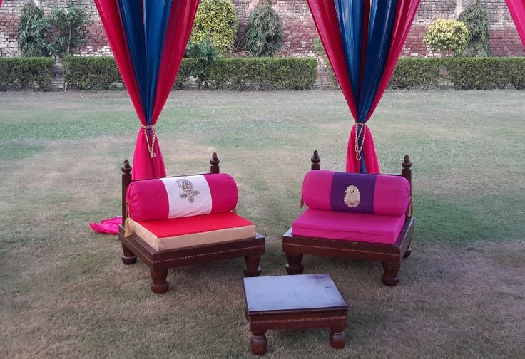 Exclusive handcrafted furniture for tents from India.