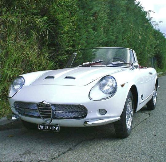 1961 ALFA ROMEO 2000 SPIDER - by Carrozzeria Touring Superleggera of Milan.