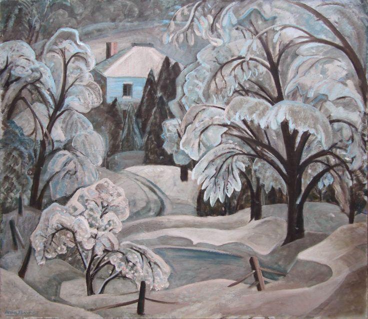 Blue Ice Lake Wonish by Anne Savage at Mayberry Fine Art