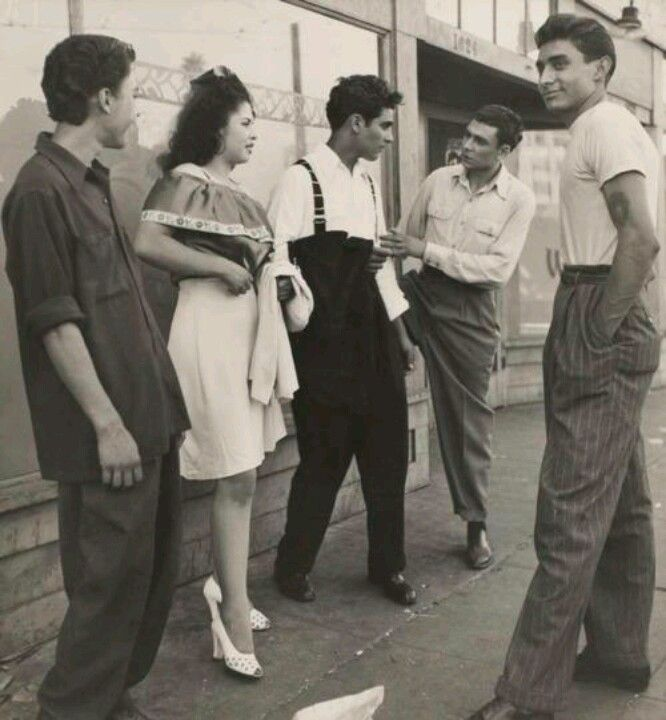 pachucos in the fifties zoot suit zoot