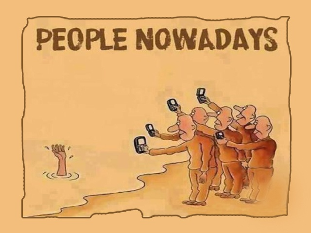 Best way to express People Attitude. This Photo shows the Real Image of our World. Now a days people behave like the same no one is interested to help others but most of them make laugh of others problems.