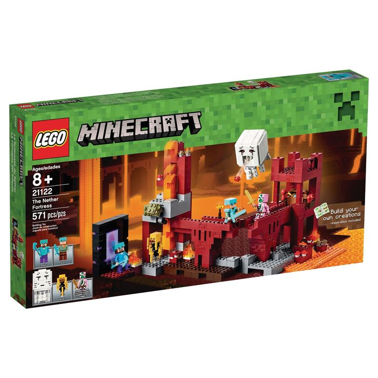 Lego Minecraft Nether Fortress 21122