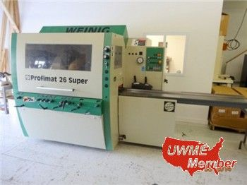 Used Woodworking Machinery: Our national listings for the week of 5-12-2014 include an Invicta 24″ Single Surface Planer, Weinig 9″ X 5″...