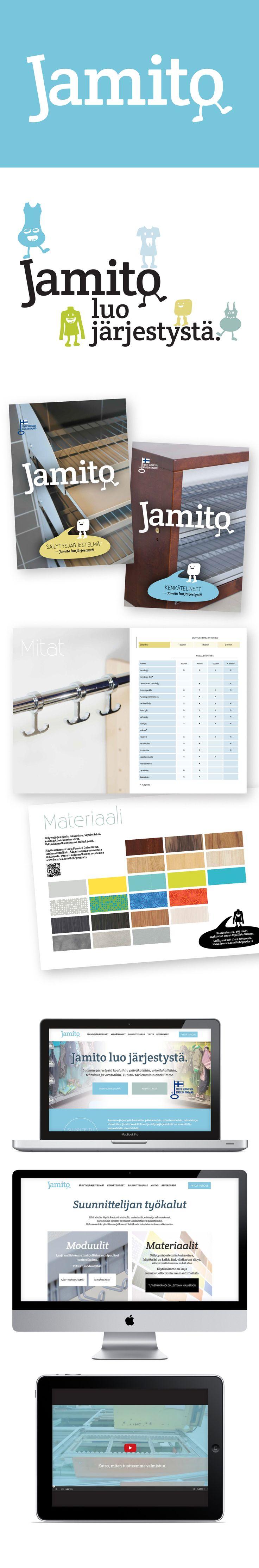 Asiakas: Jamito Avainsanat: yritysilme, logosuunnittelu, värimaailma, typografia, graafiset elementit, verkkosivuston suunnittelu, HubSpot, responsive web, yritysvideo