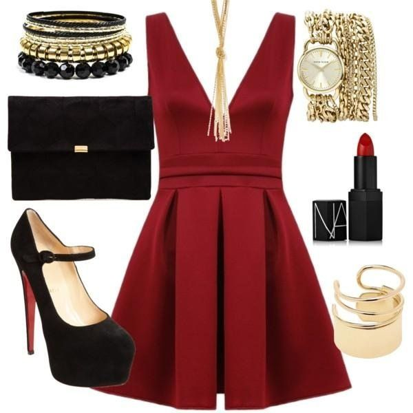 elegantly = festively? : D #fashion #dress #womens fashion #outfit
