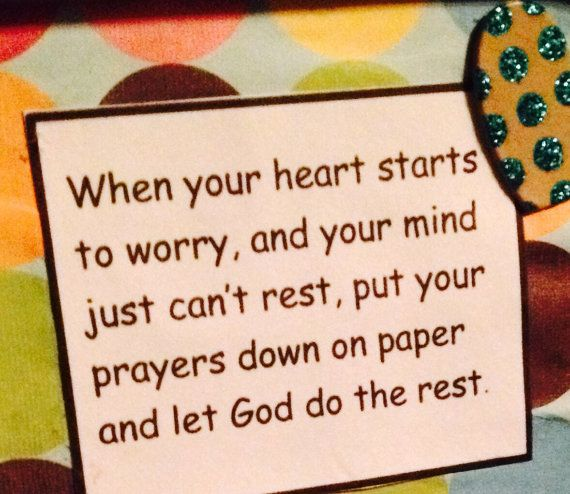 Great idea for gifts! Gifts for sympathy, baptisms, even graduation gifts! Prayer Box by MrsMartinsMagic on Etsy, $12.00