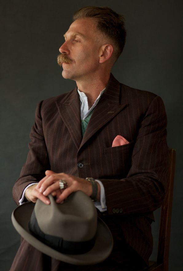 Mens Fashions from Goodwood Revival 2013 #vintage #1940s #menswear