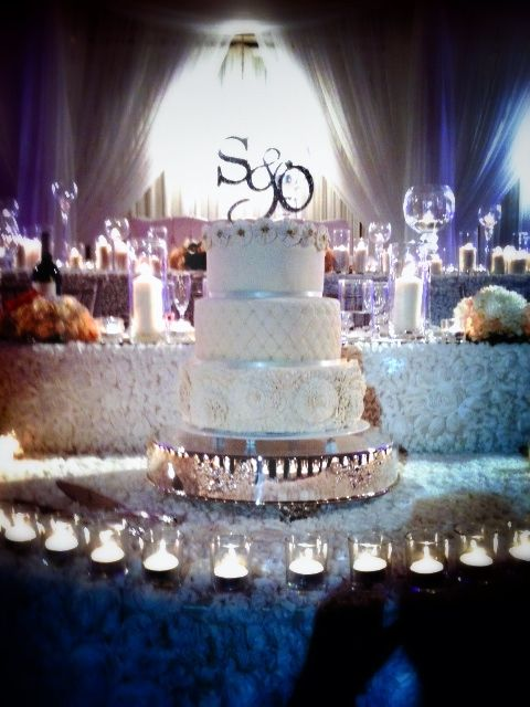 Ok I didn't make this cake but OMG how beautiful the decor done by @Nikki Proietto