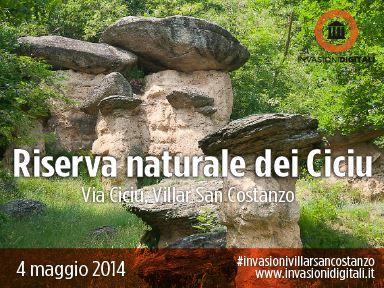 La Riserva Naturale Ciciu del Vilar verrà invasa il 4 Maggio alle ore 17.00 con l' #invasionivillarsancostanzo